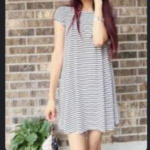 Sale🛍Mossimo Supply Co. Stripes Mini Dress Size S